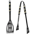 Siskiyou Buckle F2BQ150 New Orleans Saints 2 pc Steel BBQ Tool Set