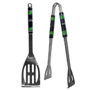 Siskiyou Buckle F2BQ155 Seattle Seahawks 2 pc Steel BBQ Tool Set