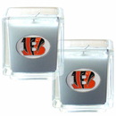 Siskiyou Buckle F2CD010 Cincinnati Bengals Scented Candle Set