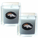 Siskiyou Buckle F2CD020 Denver Broncos Scented Candle Set