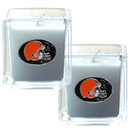 Siskiyou Buckle F2CD025 Cleveland Browns Scented Candle Set