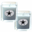 Siskiyou Buckle F2CD055 Dallas Cowboys Scented Candle Set