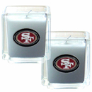 Siskiyou Buckle F2CD075 San Francisco 49ers Scented Candle Set
