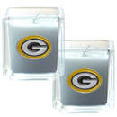 Siskiyou Buckle F2CD115 Green Bay Packers Scented Candle Set