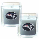 Siskiyou Buckle F2CD120 New England Patriots Scented Candle Set