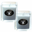 Siskiyou Buckle F2CD125 Oakland Raiders Scented Candle Set