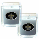Siskiyou Buckle F2CD150 New Orleans Saints Scented Candle Set