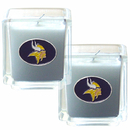 Siskiyou Buckle F2CD165 Minnesota Vikings Scented Candle Set