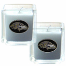 Siskiyou Buckle F2CD180 Baltimore Ravens Scented Candle Set
