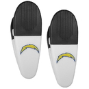 Siskiyou Buckle Los Angeles Chargers Mini Chip Clip Magnets, 2 pk, F2CM040