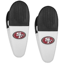 Siskiyou Buckle San Francisco 49ers Mini Chip Clip Magnets, 2 pk, F2CM075