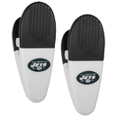 Siskiyou Buckle New York Jets Mini Chip Clip Magnets, 2 pk, F2CM100