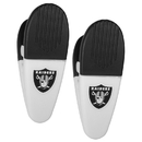 Siskiyou Buckle Oakland Raiders Mini Chip Clip Magnets, 2 pk, F2CM125