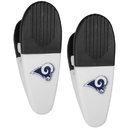 Siskiyou Buckle Los Angeles Rams Mini Chip Clip Magnets, 2 pk, F2CM130