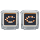 Siskiyou Buckle F2CP005 Chicago Bears Graphics Candle Set