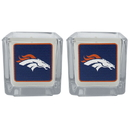 Siskiyou Buckle F2CP020 Denver Broncos Graphics Candle Set