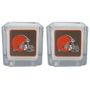 Siskiyou Buckle F2CP025 Cleveland Browns Graphics Candle Set