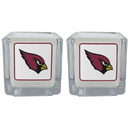 Siskiyou Buckle F2CP035 Arizona Cardinals Graphics Candle Set