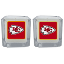 Siskiyou Buckle F2CP045 Kansas City Chiefs Graphics Candle Set