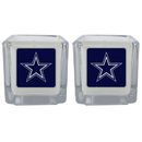 Siskiyou Buckle F2CP055 Dallas Cowboys Graphics Candle Set