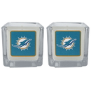 Siskiyou Buckle F2CP060 Miami Dolphins Graphics Candle Set