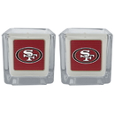 Siskiyou Buckle F2CP075 San Francisco 49ers Graphics Candle Set
