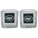 Siskiyou Buckle F2CP100 New York Jets Graphics Candle Set