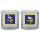 Siskiyou Buckle F2CP165 Minnesota Vikings Graphics Candle Set