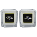 Siskiyou Buckle F2CP180 Baltimore Ravens Graphics Candle Set