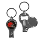 Siskiyou Buckle F3KC025 Cleveland Browns Nail Care/Bottle Opener Key Chain