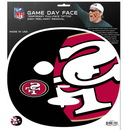 Siskiyou Buckle F4GFD075 San Francisco 49ers Set of 4 Game Day Faces