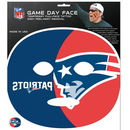 Siskiyou Buckle F4GFD120 New England Patriots Set of 4 Game Day Faces