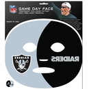 Siskiyou Buckle F4GFD125 Oakland Raiders Set of 4 Game Day Faces