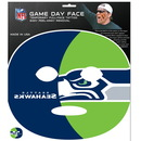 Siskiyou Buckle F4GFD155 Seattle Seahawks Set of 4 Game Day Faces
