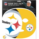 Siskiyou Buckle F4GFD160 Pittsburgh Steelers Set of 4 Game Day Faces