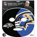 Siskiyou Buckle F4GFD180 Baltimore Ravens Set of 4 Game Day Faces