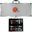 Siskiyou Buckle Cleveland Browns 8 pc Tailgater BBQ Set, F8BQ025