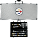 Siskiyou Buckle Pittsburgh Steelers 8 pc Tailgater BBQ Set, F8BQ160