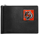 Siskiyou Buckle FBCW010 Cincinnati Bengals Leather Bill Clip Wallet
