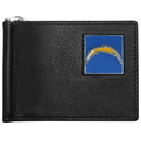 Siskiyou Buckle FBCW040 San Diego Chargers Leather Bill Clip Wallet