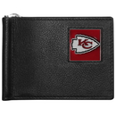 Siskiyou Buckle FBCW045 Kansas City Chiefs Leather Bill Clip Wallet