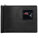 Siskiyou Buckle FBCW120 New England Patriots Leather Bill Clip Wallet
