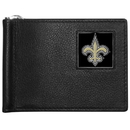 Siskiyou Buckle FBCW150 New Orleans Saints Leather Bill Clip Wallet