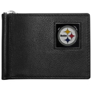Siskiyou Buckle FBCW160 Pittsburgh Steelers Leather Bill Clip Wallet