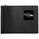 Siskiyou Buckle FBCW180 Baltimore Ravens Leather Bill Clip Wallet
