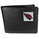 Siskiyou Buckle FBI035 Arizona Cardinals Leather Bi-fold Wallet Packaged in Gift Box