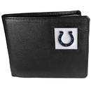 Siskiyou Buckle FBI050 Indianapolis Colts Leather Bi-fold Wallet Packaged in Gift Box