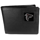Siskiyou Buckle FBI070 Atlanta Falcons Leather Bi-fold Wallet Packaged in Gift Box