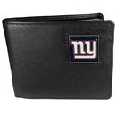 Siskiyou Buckle FBI090BX New York Giants Leather Bi-fold Wallet