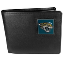 Siskiyou Buckle FBI175 Jacksonville Jaguars Leather Bi-fold Wallet Packaged in Gift Box